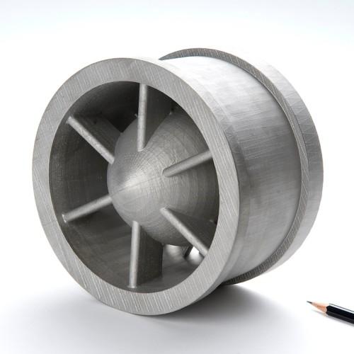 SLM Mini-Strömungsteil
